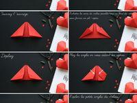 Cœurs en papier