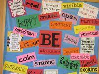 Elementary Art Projects - B Boards