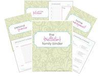 Home management Binder/Printables