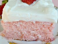... | Homemade Cream Corn, Strawberry Sheet Cakes and Parmesan Orzo