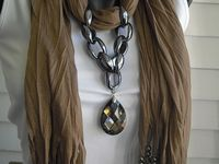 Scarves and Fabric Necklaces