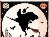 ** Hi there! my other Pinterest Board called: HALLOWEEN 2 --is Loaded with nothing but Gorgeous Rare Vintage Halloween POSTCARDS, 100 yr. old style. Check it out if you like: Halloween 2 :for Great images ;-D Enjoy! ___ A TIME of Transition -- Transformation -- Light a Candle ... Feel a Halloween Comin' On? -- #masks #halloween #spooky #vintagecostumes #vintagedecorations #halloweenfigures #halloweendecorations #flappershalloween #germandiecut  #beistle #ephemera #pumpkins #oldcandyads #lanterns