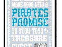 Pirate Boys Room