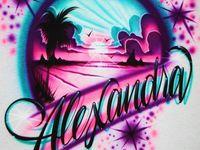 Airbrush T Shirt Designs