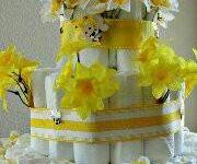 cottoncastles.com Custom Diaper Cakes