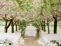 Aisle & Ceremony Decor - arches, wreaths, lighting Aisle Style  Board