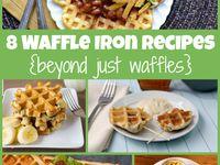 Waffle Iron Recipes