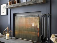 Mid Century Modern Fireplace A Collection Of Home Decor Ideas To Try Window Treatments How