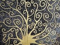 Gustav Klimt , born in 1862 in Vienna, died in 1918 in Vienna.