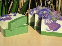 i'm a soapmaker! i love handcrafted bath and body products. this lists several of them, not necessarily just soap. :)