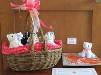 """Itty Bitty Kitty Party / Ideas I gathered for my daughter's 2nd birthday, which was an """"Itty Bitty Kitty"""" theme =^_^="""