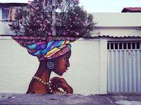 Street art / l'art des rue, street art, 3d dessin, craie bombe