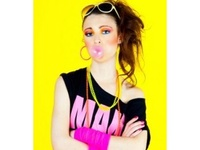 80s theme shoot with Natalie