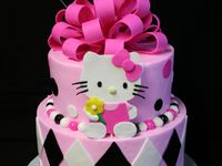 Hello kitty cakes and more