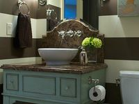 1000 Images About Bathroom On Pinterest Brown Small Bathrooms Wood