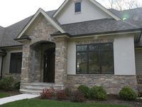 And Stucco On Pinterest Stucco Colors Flagstone And Stucco Exterior