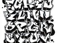 Grafitti fonts