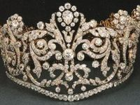 Born with a diamond Tiara on her head ~