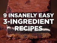 3 ingredient recipes  Board