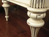 White Distress Painted Furniture