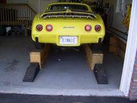 The Car Shop >> Best 17 CAR RAMPS HIGH images on Pinterest | Corvette c3, Driveway ideas and Garage shop