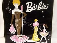 Vintage barbie and accessories