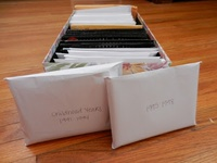 Tips for organizing photos, organizing and storing photos in scrapbooks and organizing printed photos.