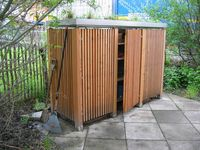 Tool shed on pinterest tool storage small sheds and sheds for Garden shed jokes