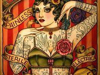Tattoo and carnival illustrations