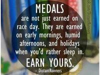 Medals display