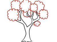 كيفية رسم شجرة العائلة في المدرسة Felt Ornaments Home Decor Decals Decor