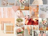 Peach and Pink vintage wedding ideas
