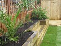 Raised beds , vertical garden, potager / Jardin vertical, potager, raised beds,