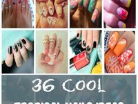 Cute nails ideas to do at home!