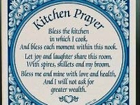 10 Best Images About Kitchen Prayers On Pinterest Poster