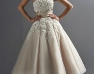 Bridal gowns and dresses that are suitable for older brides. Elegance and grace!