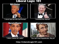 Liberal logic on Pinterest | Conservative Humor ...