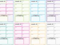 Planner printables/planner ideas.