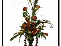 tuscan floral design ideas