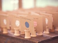 ..one fine day... wedding escort cards / seating charts