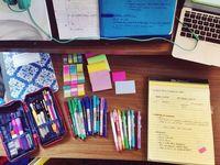 Daniela's school supplies