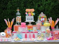 CANDY BUFFET AND OTHER GOODIES