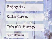 Can we talk? / Joan Rivers