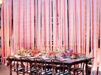 Wedding Backdrops and Ceiling decor