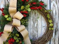 Wreaths, Swags, Door Ideas