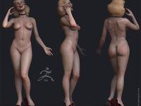 jill valentine model