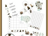 ... The Mitten on Pinterest | Homeschool, Activities and Free printables
