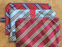 men's neckties recycled or repurposed
