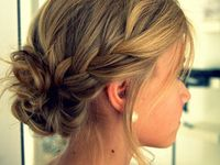Amazing hairstyles and tutorials. Just what the board says, anything hair related!