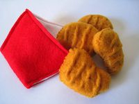 Felt Food/Things for kitchen